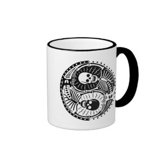 Yin and Bones Ringer Mug