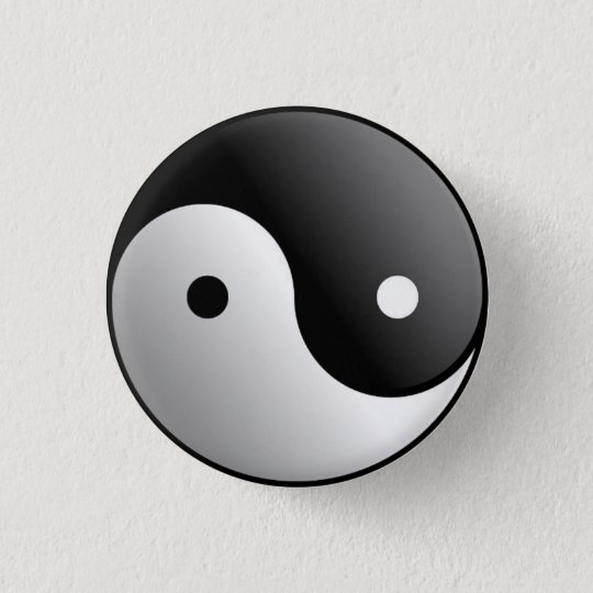 Yin and Yan Button