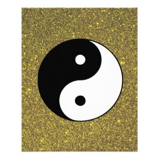 Yin and Yang 11.5 Cm X 14 Cm Flyer