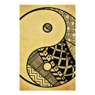 Yin and Yang 14 Cm X 21.5 Cm Flyer