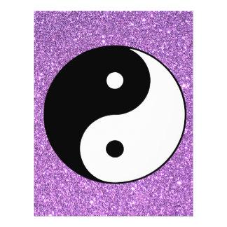 Yin and Yang 21.5 Cm X 28 Cm Flyer
