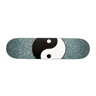 Yin and Yang Custom Skateboard