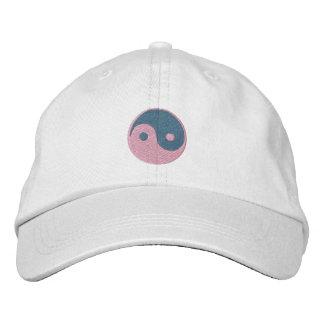 Yin and Yang Embroidered Baseball Cap