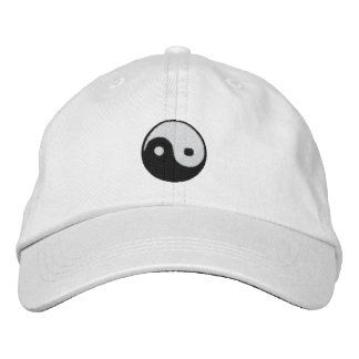 Yin and Yang Embroidered Hats
