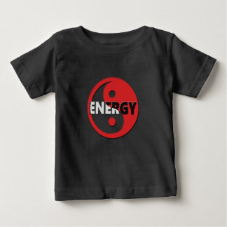 Yin and yang energy concept. baby T-Shirt