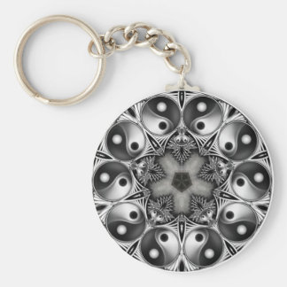 Yin and Yang Key Ring