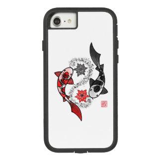 Yin and Yang Koi Fish Phone Case