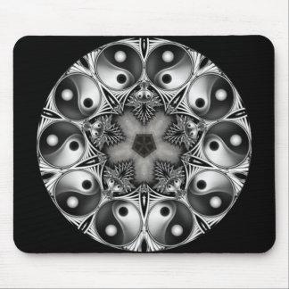 Yin and Yang Mouse Pad