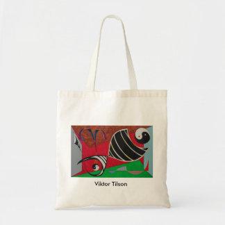 Yin and Yang Shopping bag by Viktor Tilson