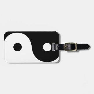 Yin And Yang Sides Bag Tag