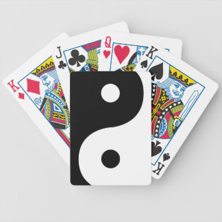 Yin And Yang Sides Poker Deck