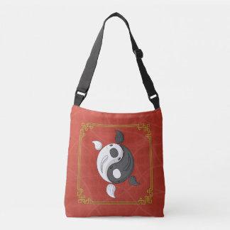 Yin and Yang the Koi All-Over-Print Bag