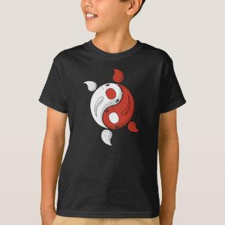 Yin and Yang the Koi Kid's and Baby Dark Shirt