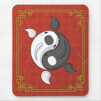 Yin and Yang the Koi Mousepad