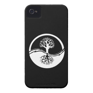 Yin and yang tree of life blackberry case