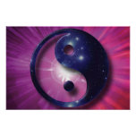 Yin and Yang Universe Print