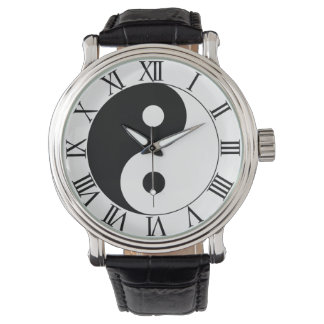 YIN AND YANG WRISTWATCHES