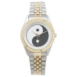 Yin and yang (yin-yang, yin yang, 陰陽) wristwatch