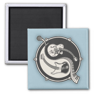 Yin Band Square Magnet