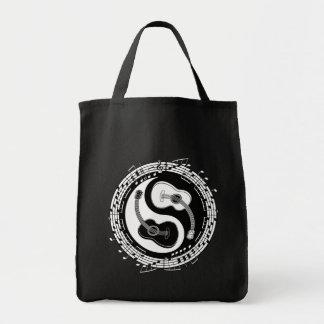 Yin Guit Notation Tote Bag
