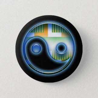 Yin & Yan 6 Cm Round Badge