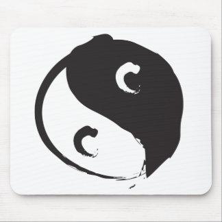 Yin Yang 2 Mouse Pad