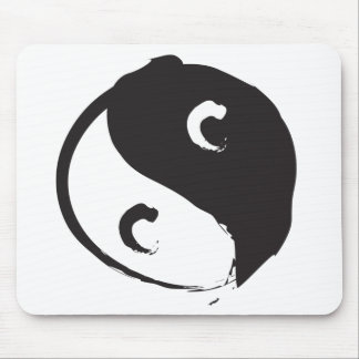 Yin Yang 2 Mouse Pads