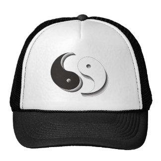 Yin Yang 3D Mesh Hats