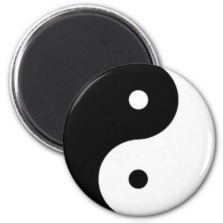 Yin Yang 6 Cm Round Magnet