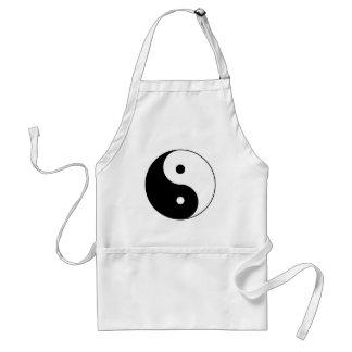 yin yang adult apron
