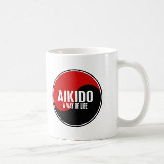 Yin Yang Aikido 1 Basic White Mug