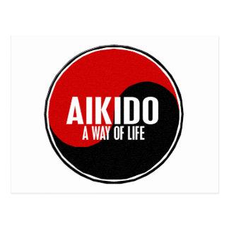 Yin Yang Aikido 1 Postcard
