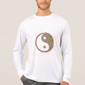 Yin Yang and Canadian Goldmine Jewel Art T-Shirt