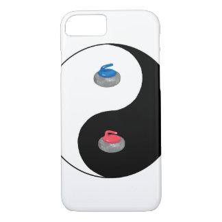 Yin Yang and Zen of Curling iPhone 7 Case