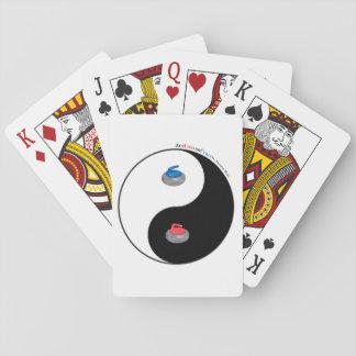 Yin Yang and Zen of Curling Poker Deck