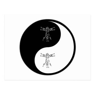 Yin Yang Anthropology Postcard
