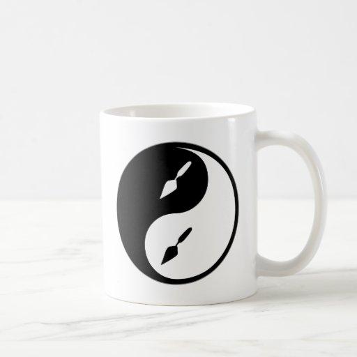Yin Yang Archaeology Basic White Mug