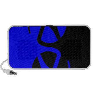Yin Yang Atheist symbol iPhone Speaker