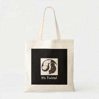 Yin Yang Babies Tote Bag