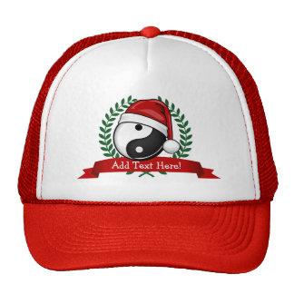 Yin Yang Balance Christmas Style Cap