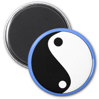 YIN-YANG blue- magnet - Customized