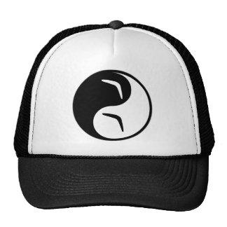 Yin Yang Boomerang Mesh Hat