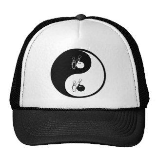 Yin Yang Bowling Trucker Hat