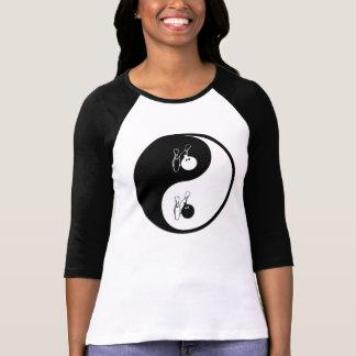 Yin Yang Bowling T-Shirt