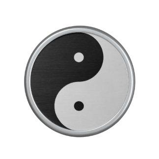 Yin Yang Bumpster Speaker Feminine Above