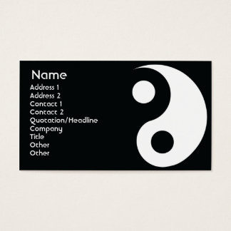 Yin Yang - Business Business Card