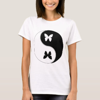 Yin Yang Butterfly T-Shirt