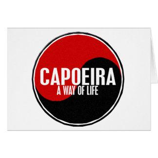 Yin Yang Capoeira 1 Card