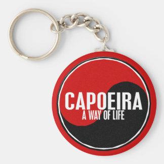 Yin Yang Capoeira 1 Key Ring