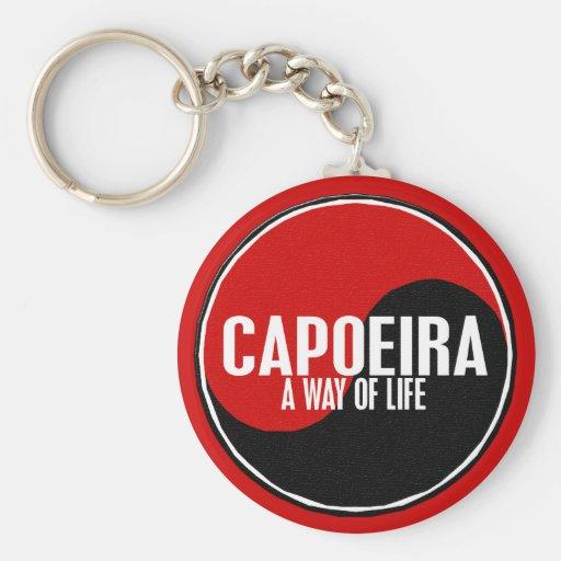 Yin Yang Capoeira 1 Keychains